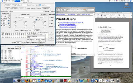 Package      running on Mac